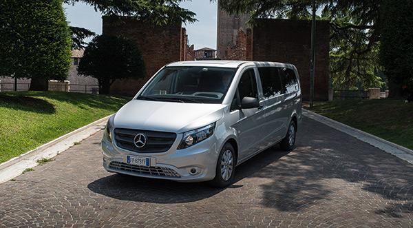 Ready Car Service - Car Rental with Driver - Mercedes Minivan
