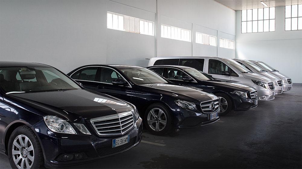 Ready Car Service - Noleggio con conducente - Flotta